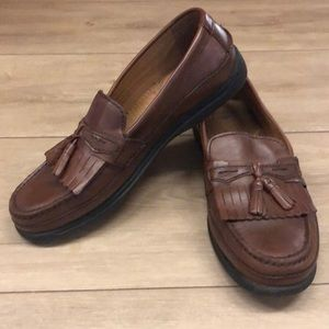 Dockers Mens Leather Loafers w/ Tassels size 11M